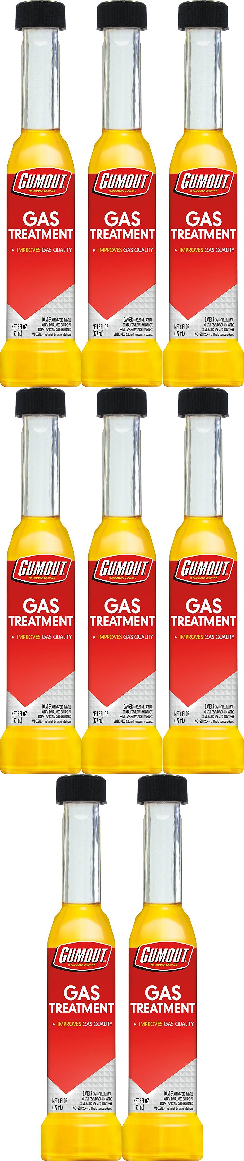 Gumout 510018 Fuel Additive For Gas Use To Remove Water From Fuel Single 8 PACK